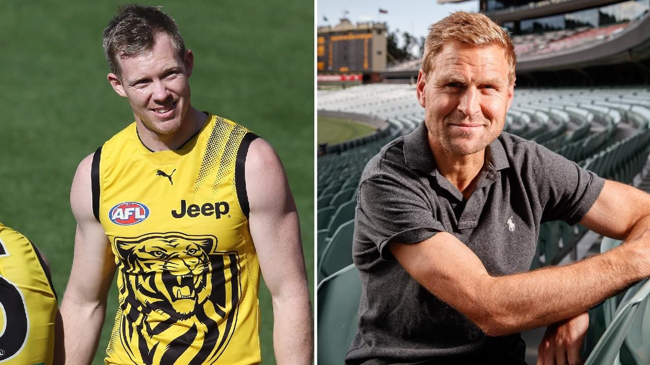 Jack Riewoldt has defended Jordan Lewis from criticism by Kane Cornes.