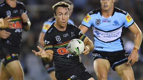 James Maloney was outstanding for the Panthers. Picture: AAP