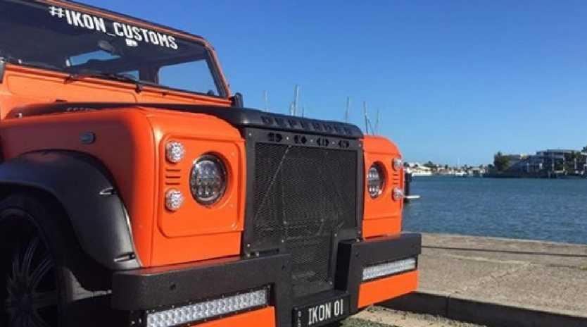 Ikon Customs' Land Rover Defender. Picture: Instagram Ikon Customs