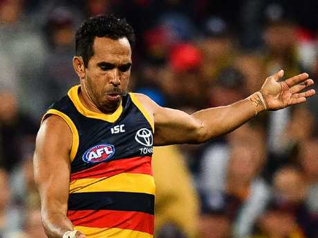 300-gamer Eddie Betts copped high-profile racist abuse in February.