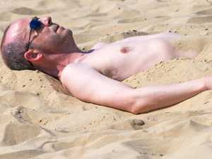 Brits bask in record-breaking 24C heatwave
