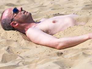 Brits bask in record-breaking 24C heatwave
