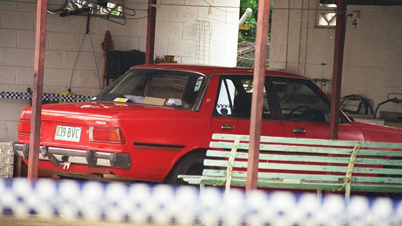 Leonard John Fraser's car used in the abduction and murder of Keyra Steinhardt.
