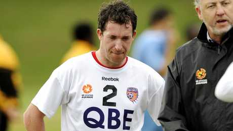 Robbie Fowler signed with the Glory in 2010. Picture: Daniel Wilkins