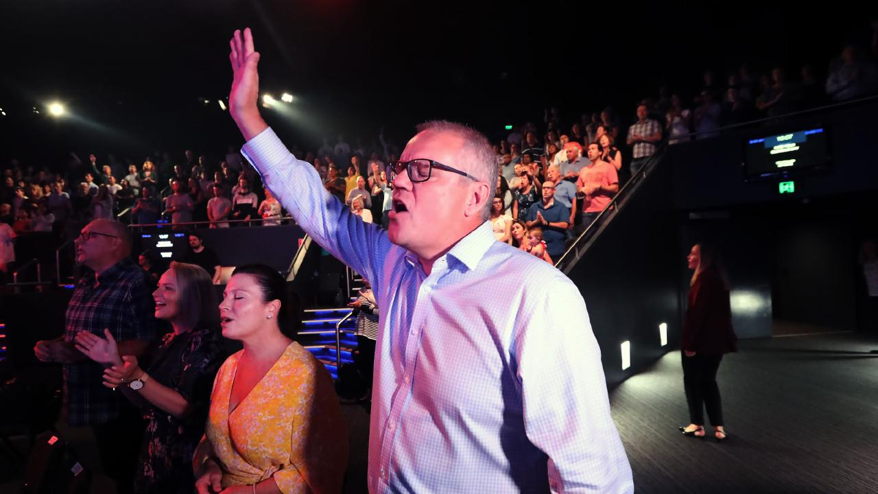Despite the country still having its reservations about Scott Morrison, the Prime Minister hada relatively successful first week of his campaign. Picture: Gary Ramage