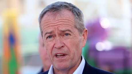 Opposition Leader Bill Shorten failed to cut through and convince voters last week. Picture: Kym Smith