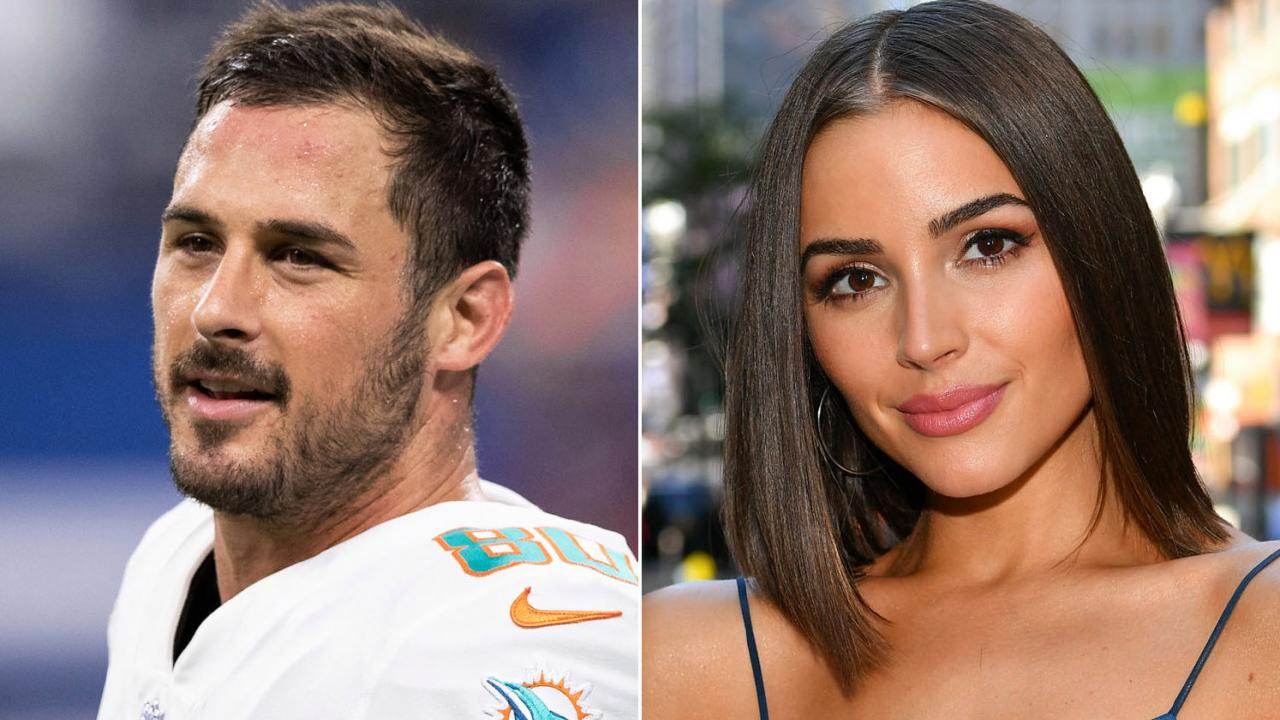 Danny Amendola and Olivia Culpo.
