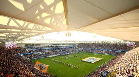 The new BankWest Stadium has been treated to a spectacular opening. (Photo by Matt Blyth/Getty Images)