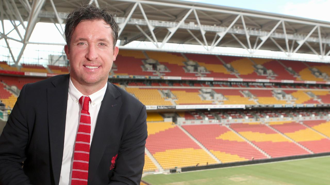 New Roar coach Robbie Fowler at Suncorp Stadium. Picture: Jono Searle