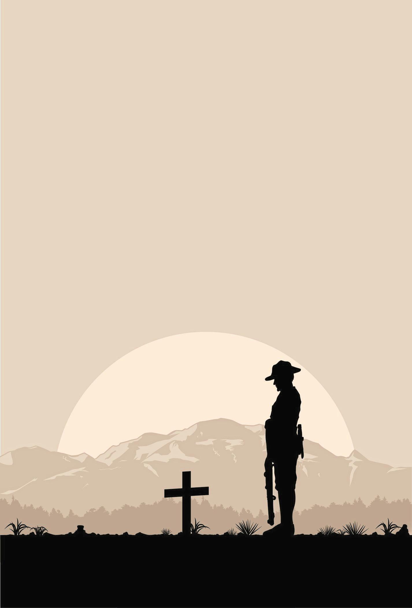 Solemn ceremonies honour sacrifices made at war.