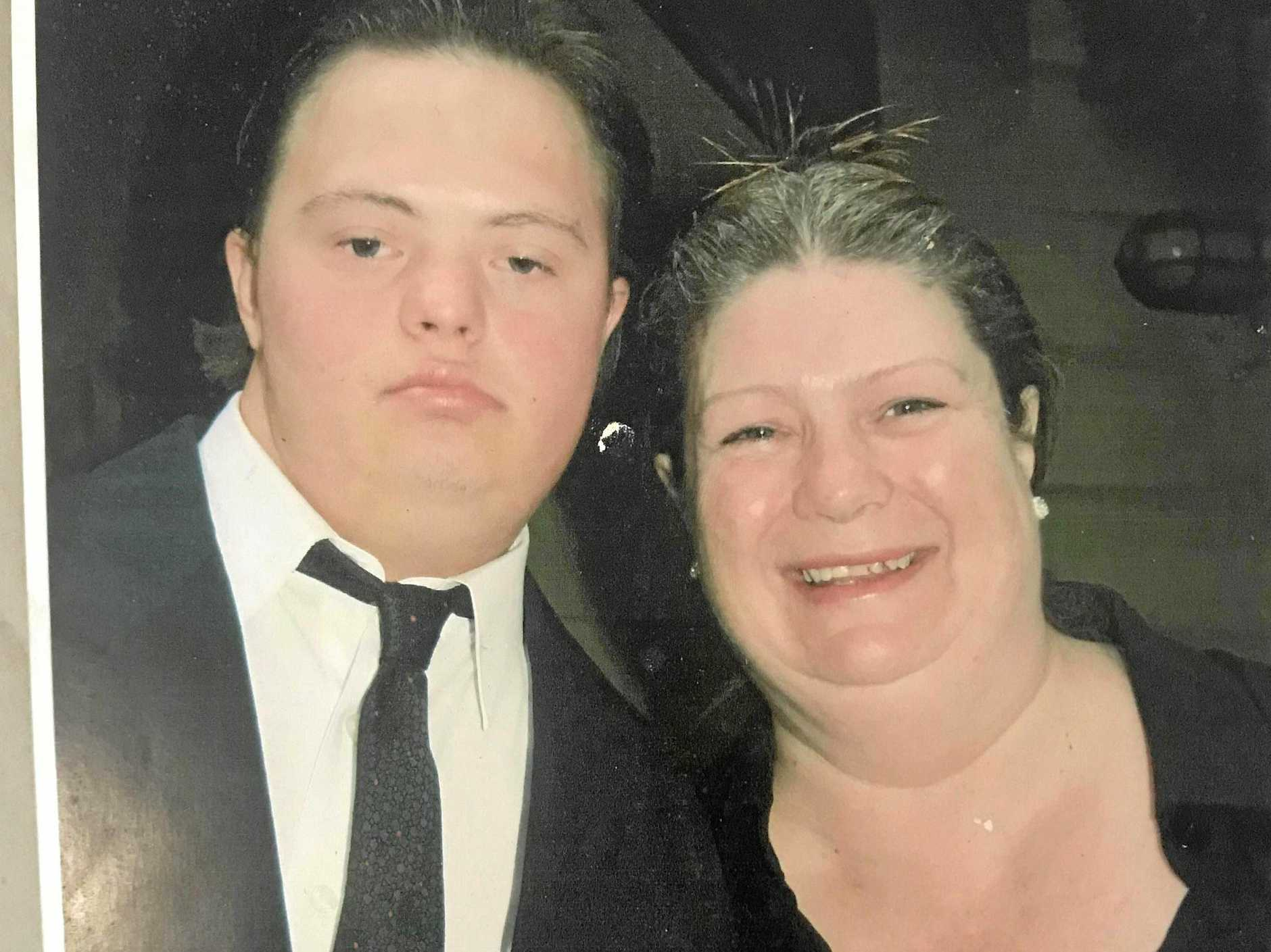 Cavell and Michelle Hyland. She was her 30-year-old son's sole carer.