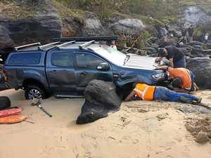 14 calls for help in Easter beach boggings
