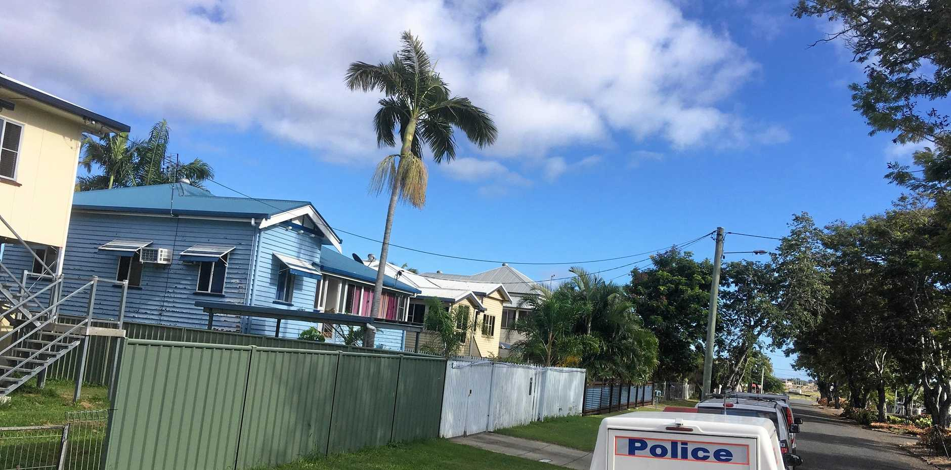 SHOCK DEATH: A man was found dead at a Campbell St home.