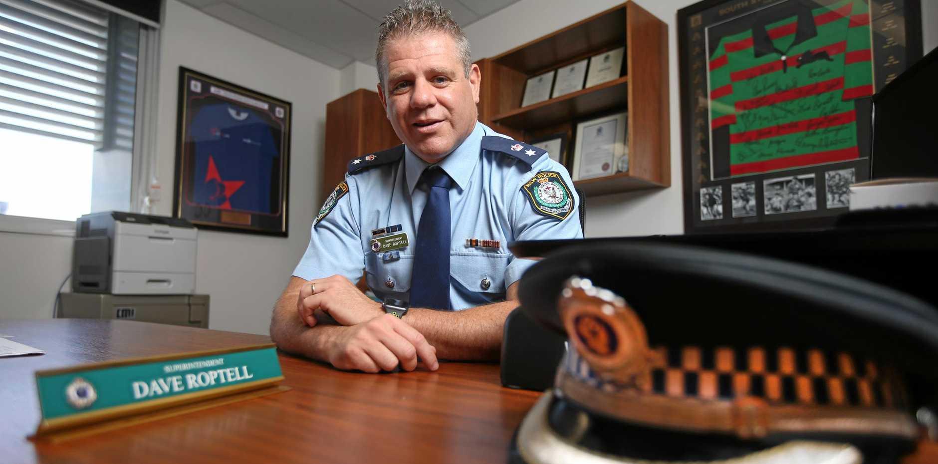 Tweed Byron Police Superintendent David Roptell
