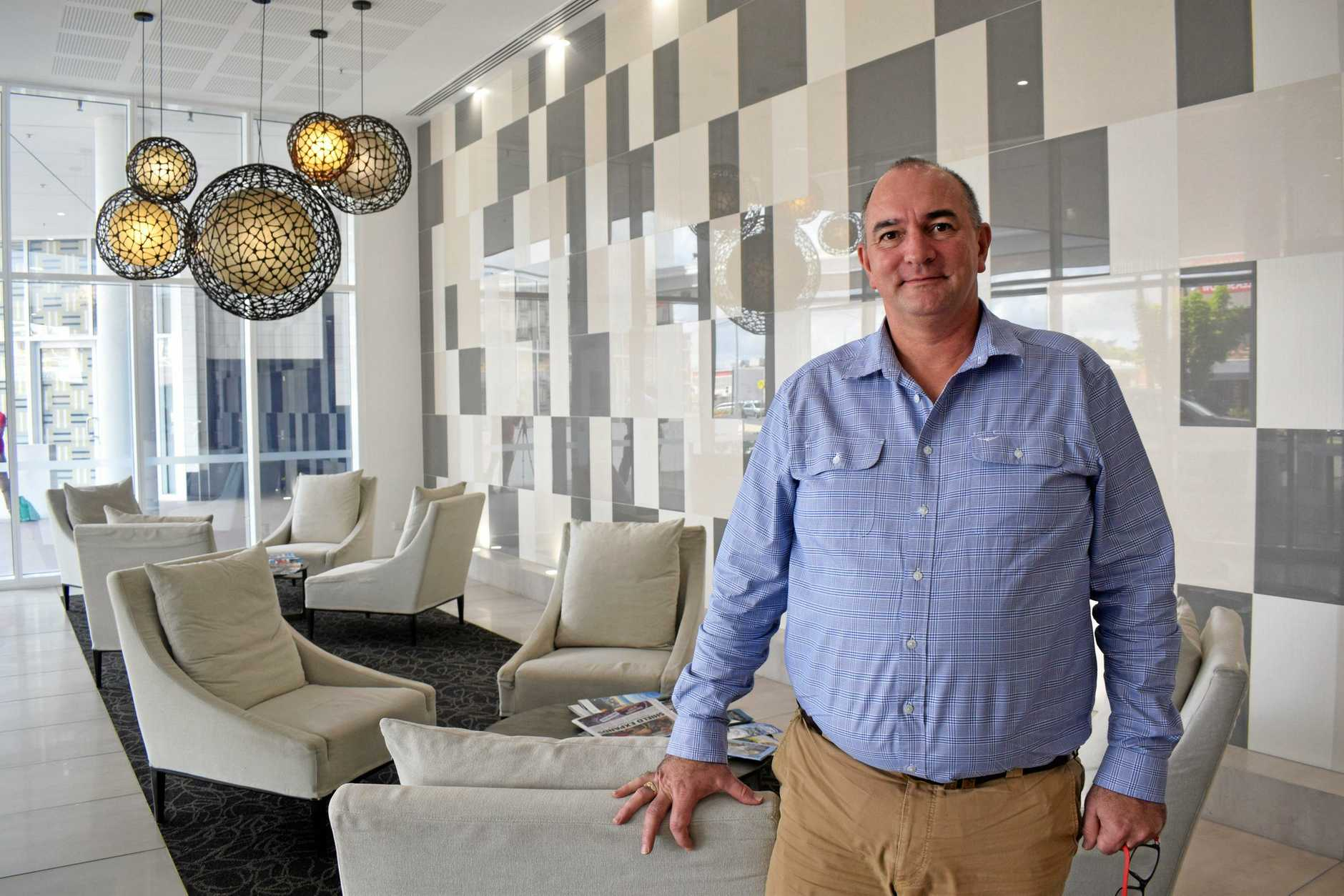 POLICY SUPPORT: Managing director of Cassidy Hospitality Group Grant Cassidy applauded Labor's plan to level the playing field for hotels competing against major online booking platforms.