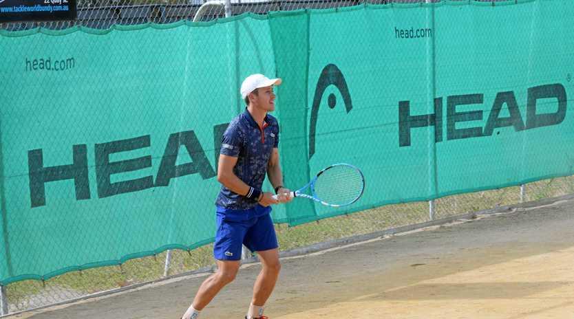 WAITING: Queensland's Gavin Van Peperzeel won't be returning to defend his title.