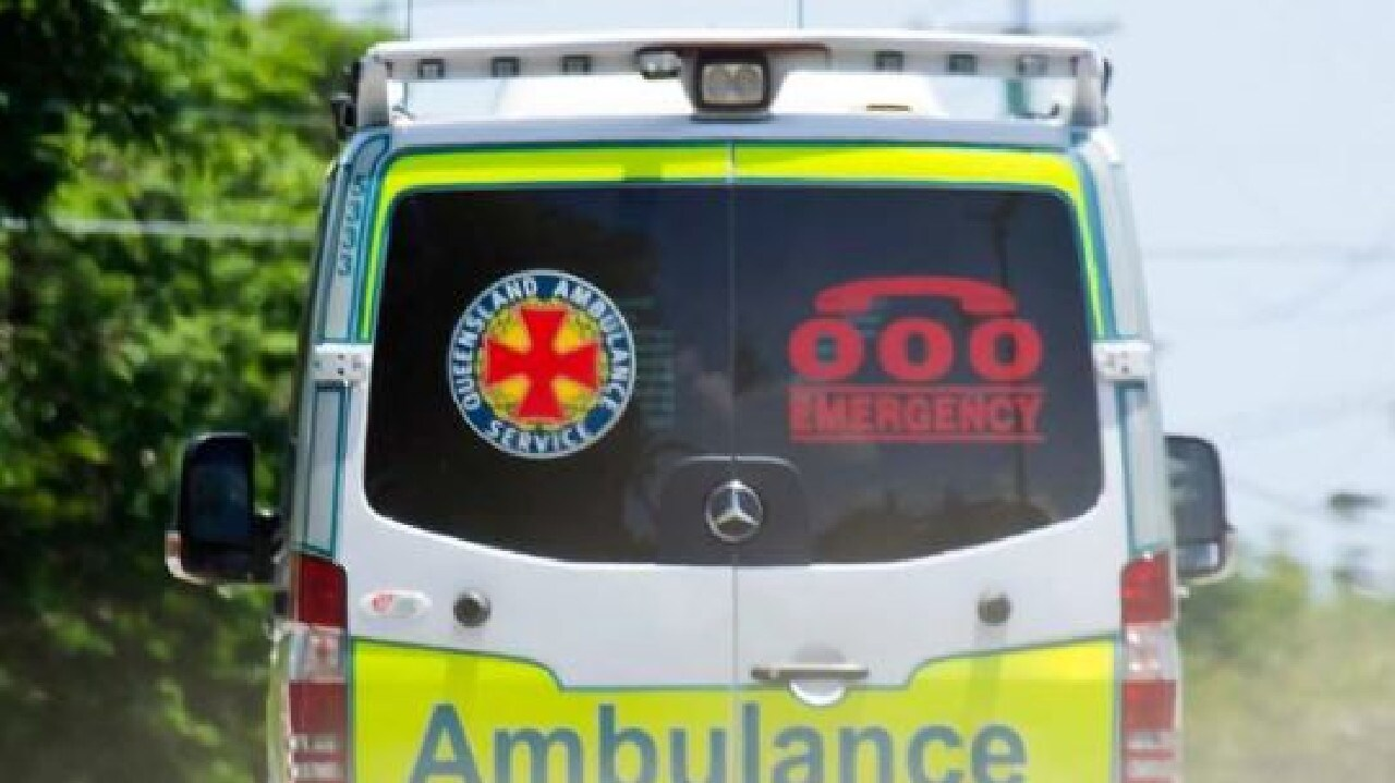 Paramedics were called to the scene about 12.30pm.