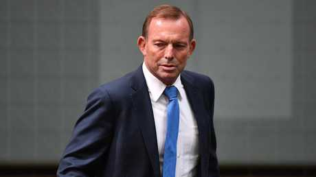 Even former prime minister and devout Christian Tony Abbott has been guilty of drinking too much at least once in his time. Picture: AAP/Mick Tsikas