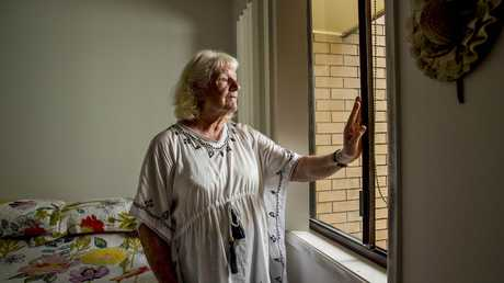 Elderly widow Mrs Farmer left her window slightly open — and will now take more security precautions. Picture: Jerad Williams