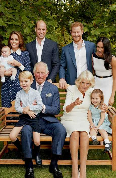 The whole family celebrated Prince Charles' 70th birthday with a series of portraits. Picture: Chris Jackson/Clarence House via Getty Images