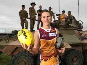 Hipwood fired up for Anzac QClash