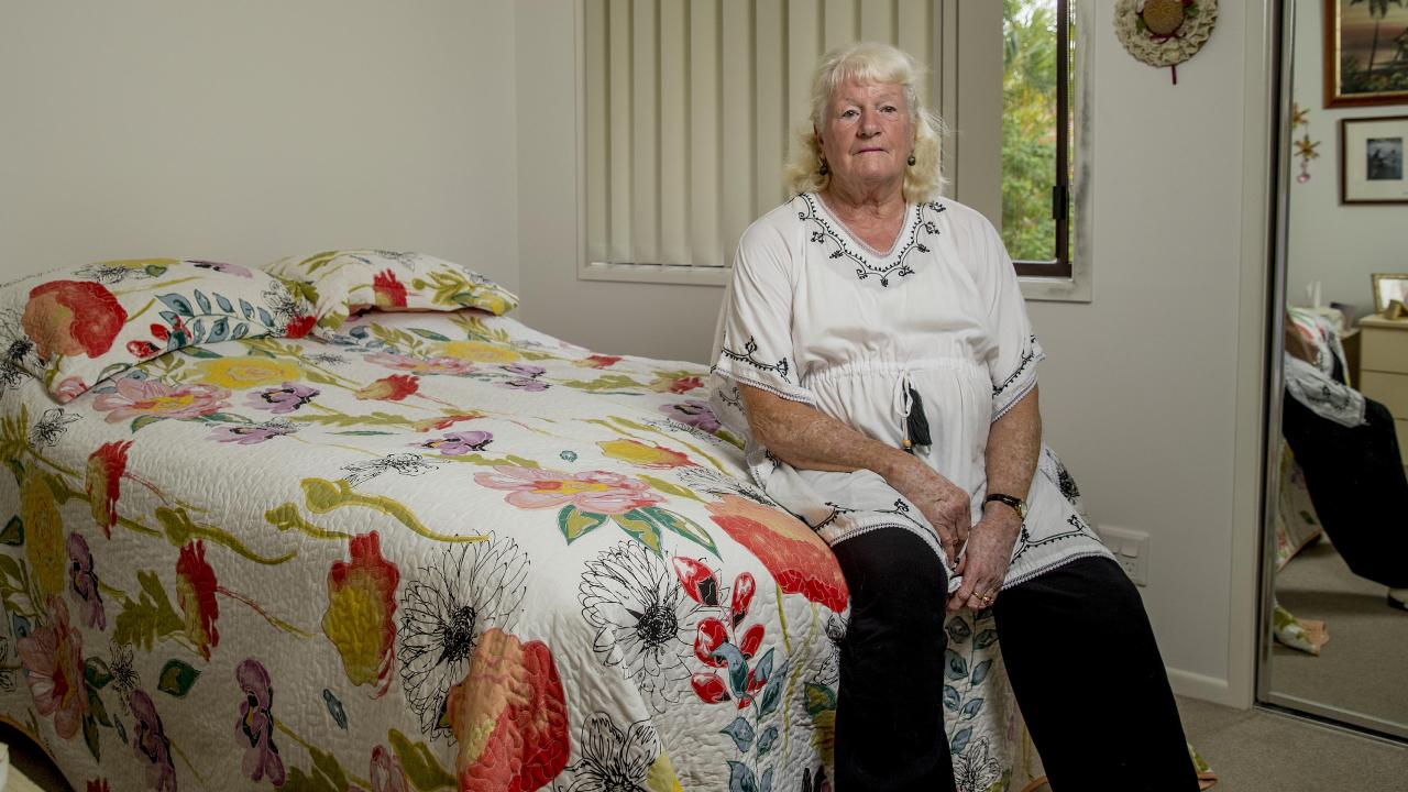 Mrs Farmer was robbed from her home in a Helensvale retirement village. Picture: Jerad Williams