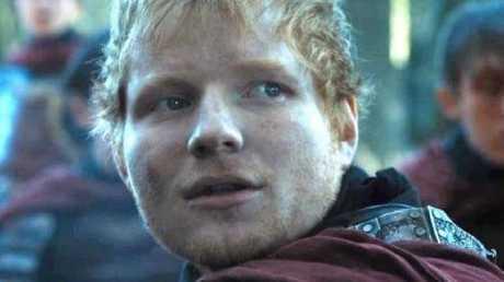 Ed Sheeran famously appeared in season seven.