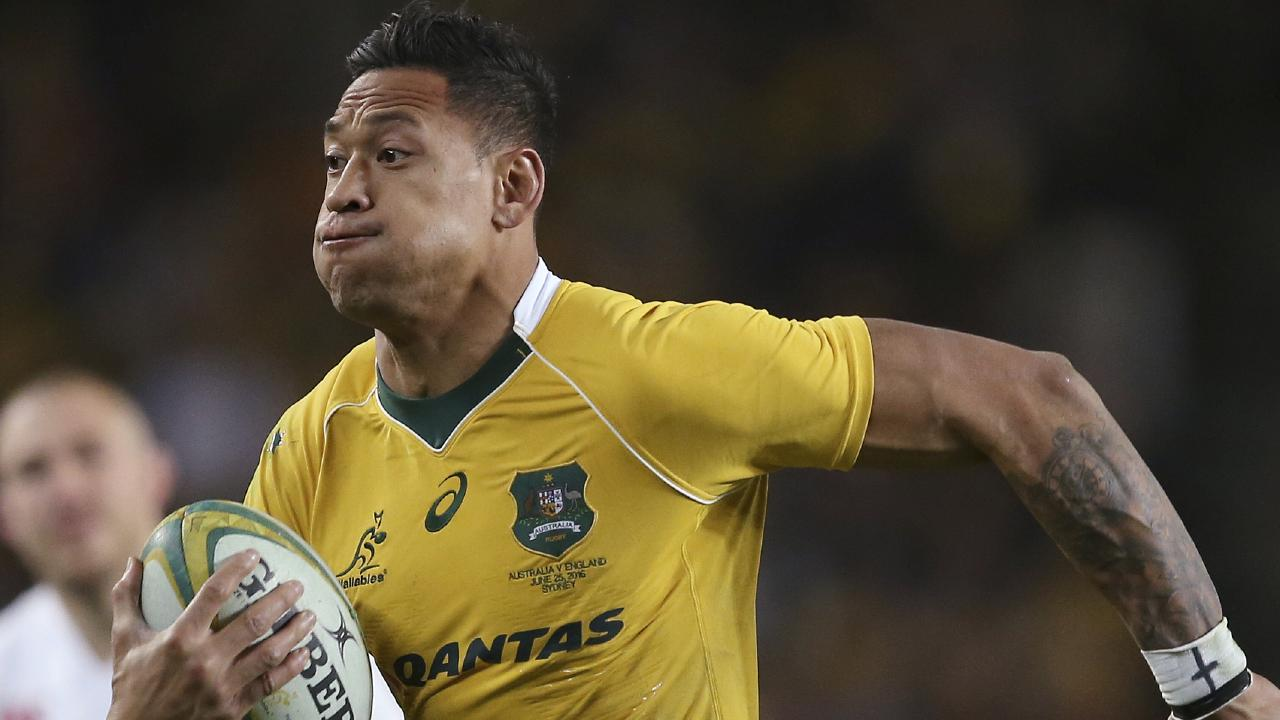 Folau published a message on his Instagram account that said