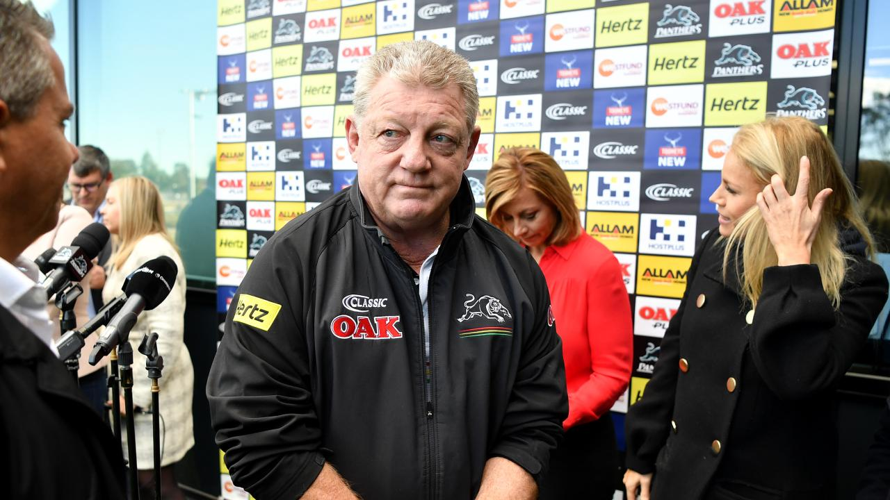 Penrith Panthers general manager Phil Gould has spent eight years at the club.
