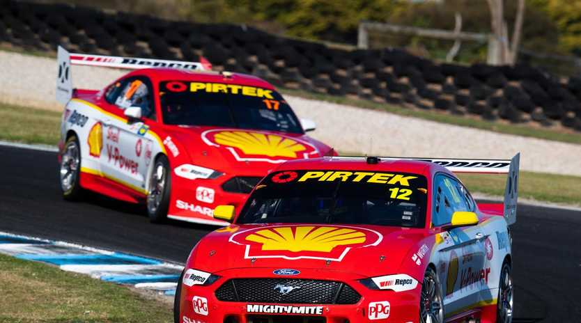 The Ford Mustang has been ordered to make changes ahead of the next round of Supercars. Picture: Daniel Kalisz/Getty Images.