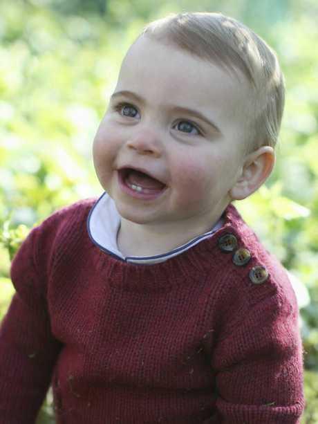 Louis looks just like his mum. Picture: Duchess of Cambridge/Kensington Palace via AP