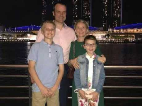The Nicholson family was wiped out by the terrorist bomb blast at the Shangri-La hotel except for the dad, who wandered morgues searching for his family. Picture: Facebook