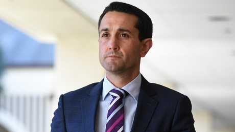 Former Mundingburra MP David Crisafulli. (AAP Image/Dan Peled)