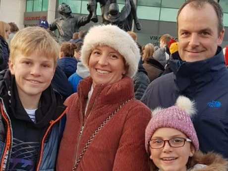 Alex Nicholson, 11, and his mother Anita were killed. Father Ben survived, while the couple's youngest daughter is missing. Picture: Facebook