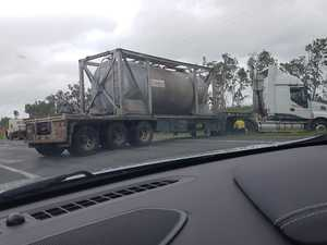 Broken down truck causes delays on Bruce Hwy