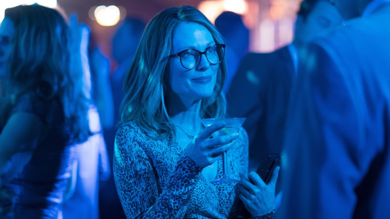 Julianne Moore in a scene from the movie Gloria Bell.