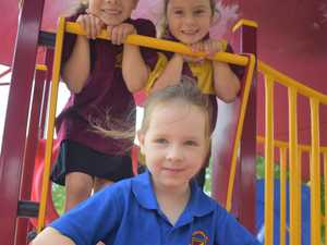 Three prep students from Chinchilla State School are