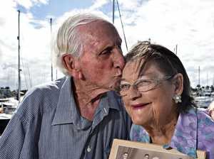 Shirley and Ernie Saint are celebrating their 70th