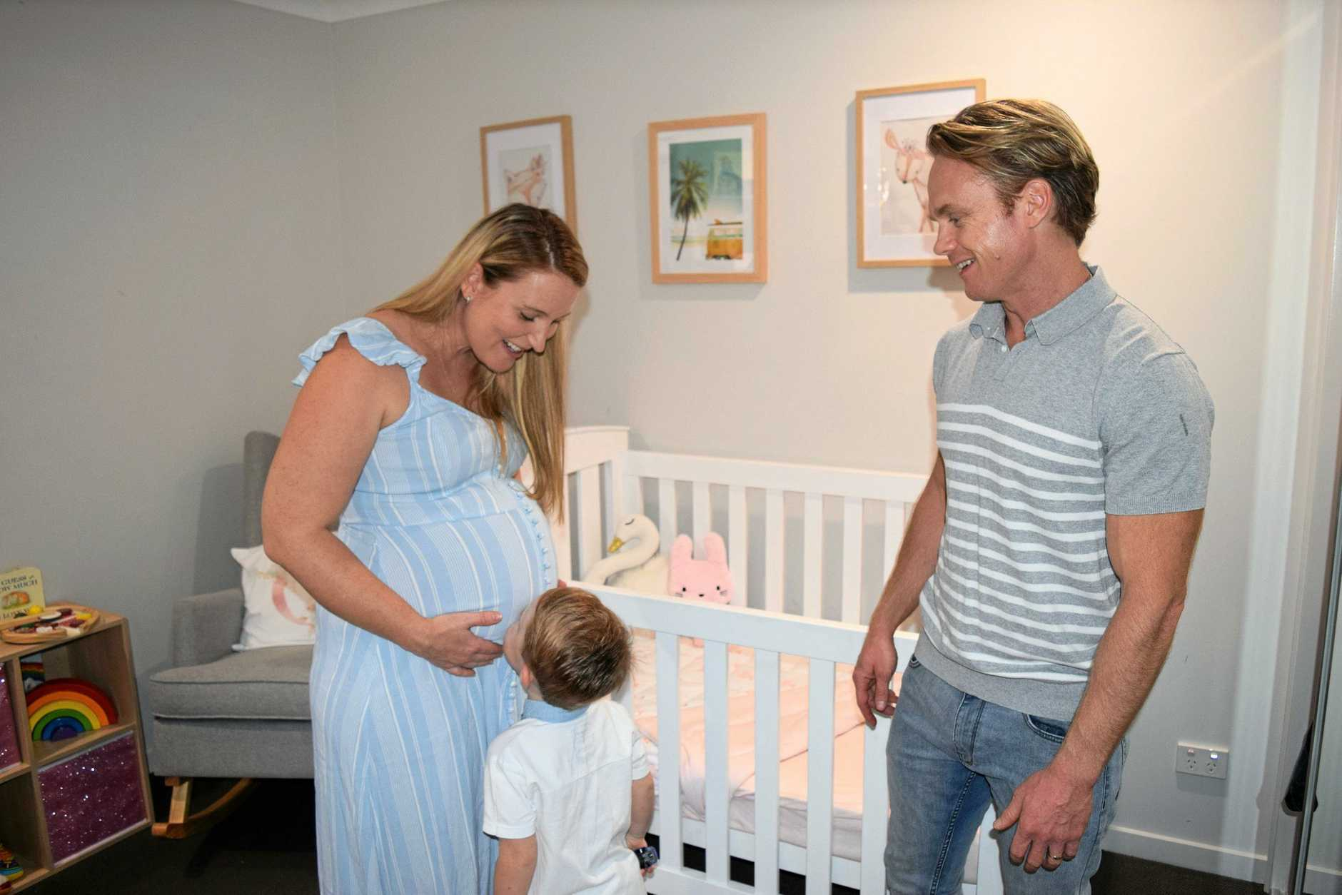 Mark, Noah and Chay Slattery are excited to welcome their fourth family member, despite the long and tough journey dealing with Twin to Twin Transfusion Syndrome.