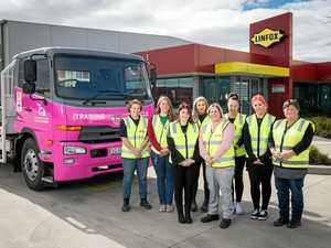 Course aims to get more women trained to drive trucks