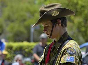 Cadets honoured to provide ceremonial support on Anzac Day