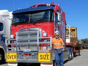 No stress of being an owner driver for Mick
