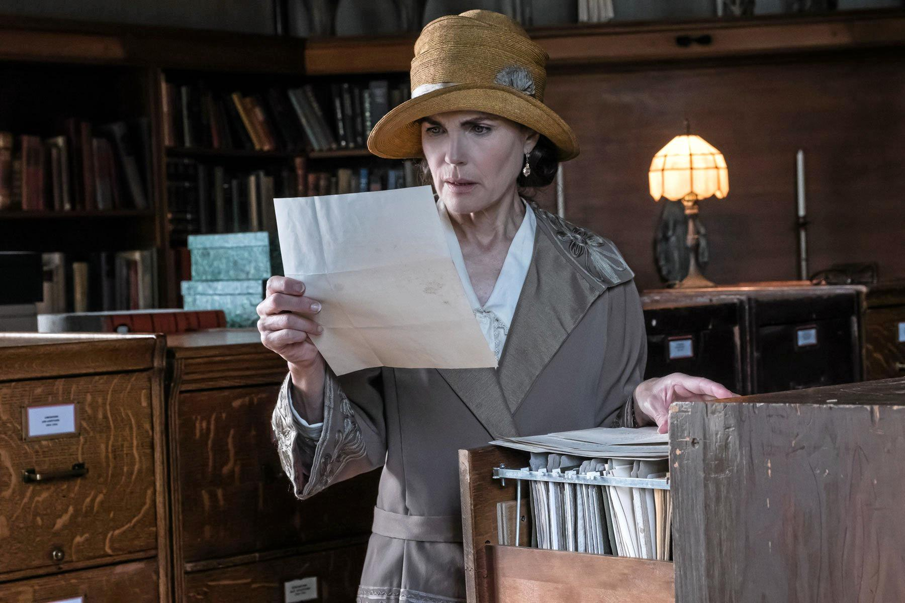 MULTI-TALENTED: Elizabeth McGovern in the movie The Chaperone.