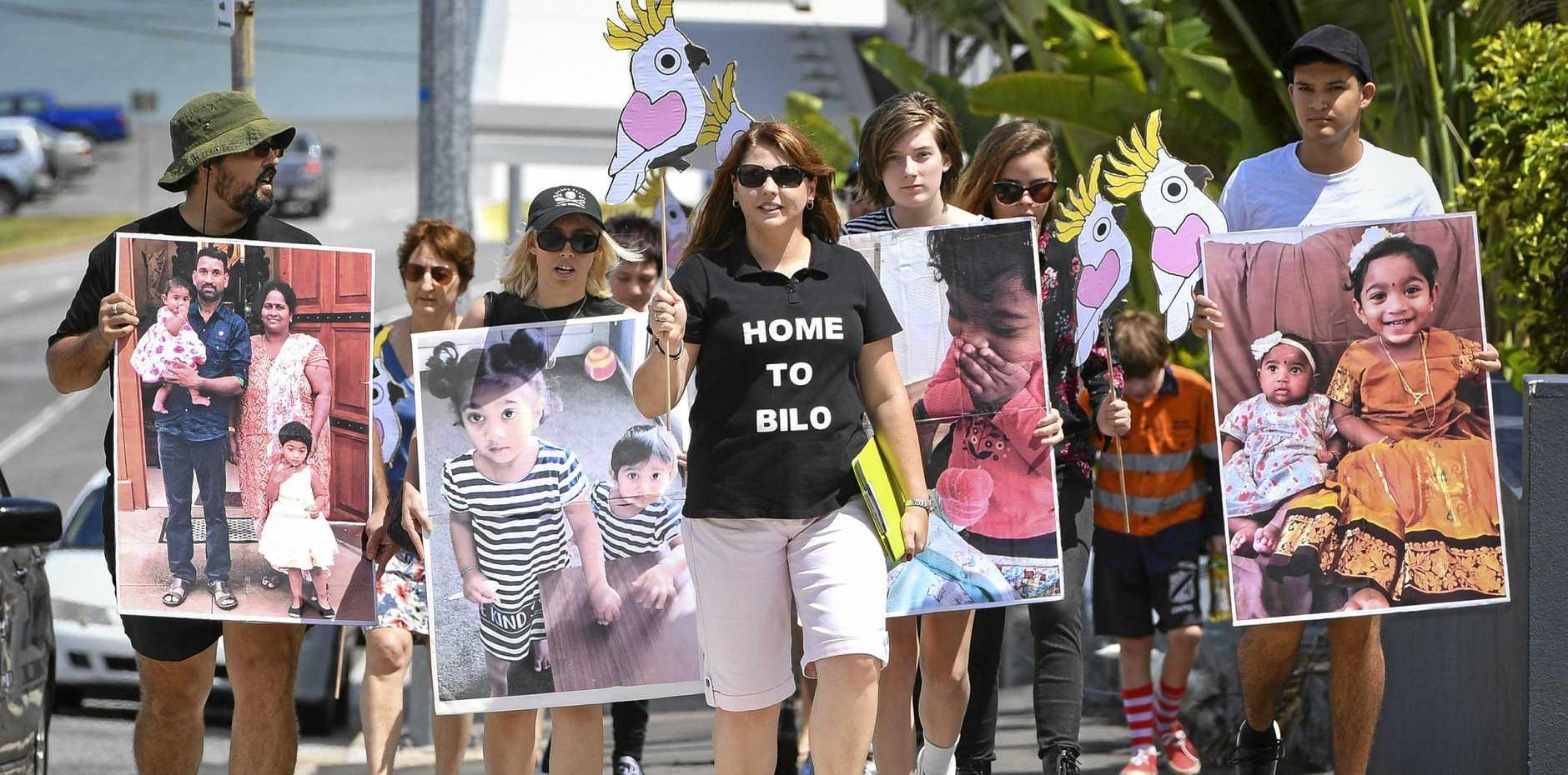 Home to Bilo campaign organiser Angela Fredericks.