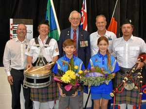 Students honour Anzacs