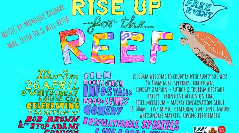 ALL RISE: Rise Up for the Reef will be a day of fun.