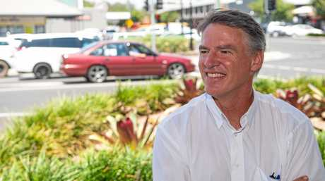 Independent candidate for Cowper Rob Oakeshott.