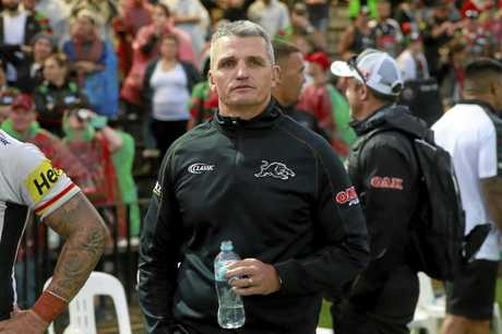 Ivan Cleary will be in the spotlight when the Panthers take on the Rabbitohs.