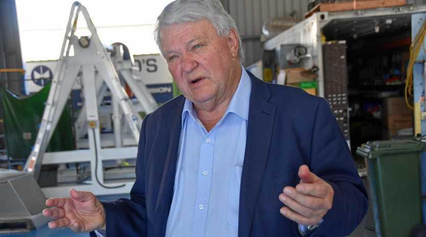 Federal MP for Flynn Ken O'Dowd.