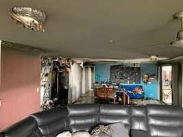 Prossy man in shock after home burns